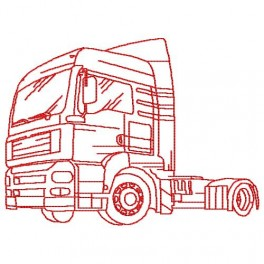 CAMION ROUTIER 9